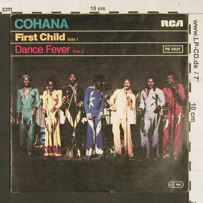 Cohana: First Child / Dance Fever, RCA(PB 5621), D, 1979 - 7inch - S9855 - 1,50 Euro