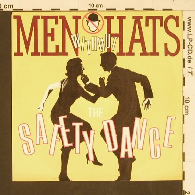 Men Without Hats: Safety Dance / Security, Statik(105 507-100), D, 1982 - 7inch - S9925 - 3,00 Euro