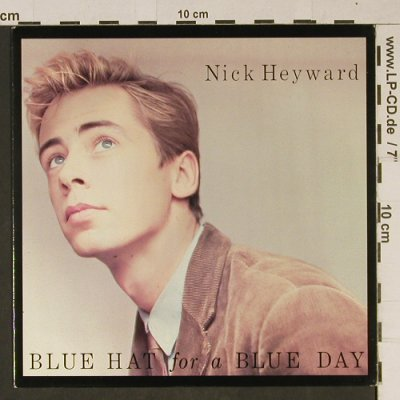 Heyward,Nick: BlueHat For A BlueDay/LoveAtTheDoor, Arista(Hey 3), UK, 1983 - 7inch - T1013 - 2,50 Euro