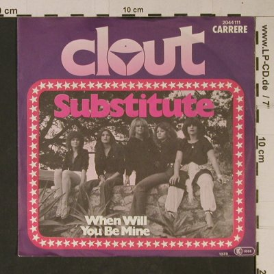Clout: Substitute, Carrere/Polydor(2044 111), D, 1978 - 7inch - T1102 - 2,50 Euro