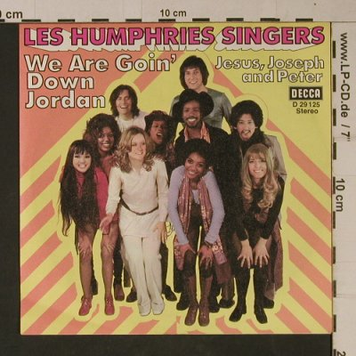 Les Humphries Singers: We Are Goin' Down Jordan, Decca(D 29 125), D,  - 7inch - T1108 - 2,50 Euro