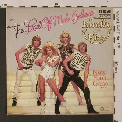 Bucks Fizz: The Land Of Make Believe, RCA(PB 5437), D, 1981 - 7inch - T1144 - 2,50 Euro