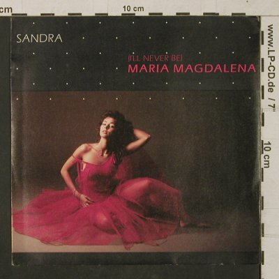 Sandra: Maria Magdalena / Party Games, Virgin(107 250-100), D, 1985 - 7inch - T1322 - 2,50 Euro