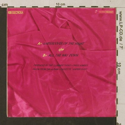 Rolling Stones: Undercover of the Night/All the Way, RS(1654427), EEC, 1983 - 7inch - T1330 - 3,00 Euro