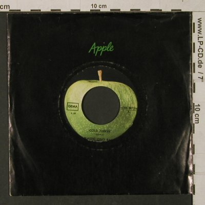 Plastic Ono Band: Cold Turkey/Don't worry Yoko....FLC, Apple(C 006-90719), D,vg+/m-,  - 7inch - T1426 - 3,00 Euro