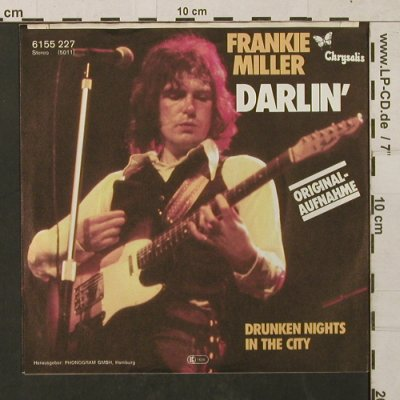 Miller,Frankie: Darlin'/Drunken Nights In The City, Chrysalis(6155227), D, 1978 - 7inch - T1443 - 2,50 Euro