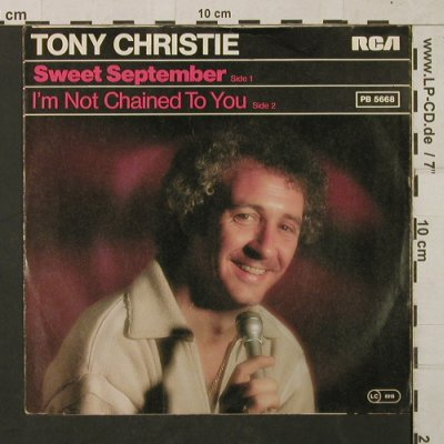 Christie,Tony: Sweet September, RCA(PB 5668), D, 1979 - 7inch - T1447 - 2,50 Euro
