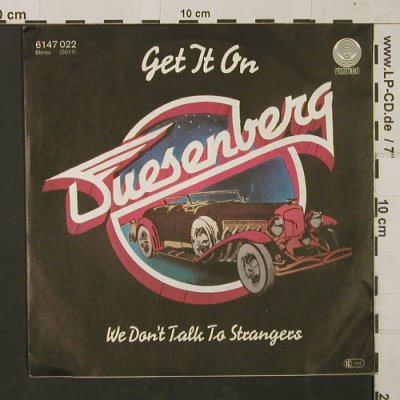 Duesenberg: Get it On / We don't talk to Stra.., Vertigo(6147 022), D, 1979 - 7inch - T1454 - 3,00 Euro