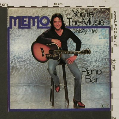 Memo: You're the Music(in myLife)PianoBar, Ariola(100 822-100), D, 1979 - 7inch - T1459 - 2,50 Euro