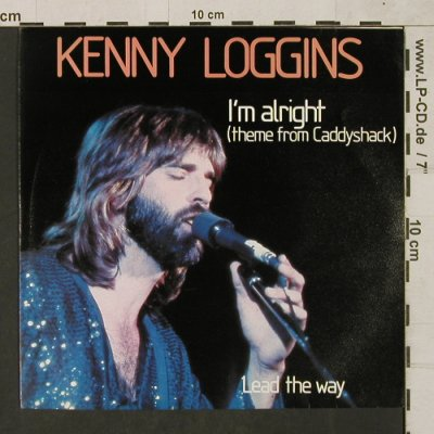 Loggins,Kenny: I'm alright(theme fr.)/Lead the way, CBS(1980), NL, 1980 - 7inch - T1489 - 3,00 Euro
