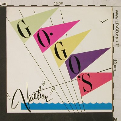 Go Go's: Vacation / Beatnik Beach, Illegal Records(ILSA-2557), NL, 1982 - 7inch - T1513 - 3,00 Euro