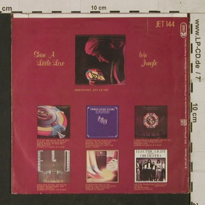 ELO: Shine A Little Love / Jungle, Jet Rec.(Jet s 144), D, 1979 - 7inch - T1518 - 2,50 Euro