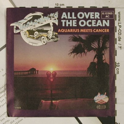 Duesenberg: All over the Ocean/Aquarius meets C, Strand(6.12365 AC), D, 1978 - 7inch - T1523 - 3,00 Euro