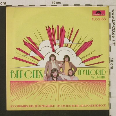 Bee Gees: My World / On Time, Polydor(2058 185), D, 1971 - 7inch - T1572 - 4,00 Euro