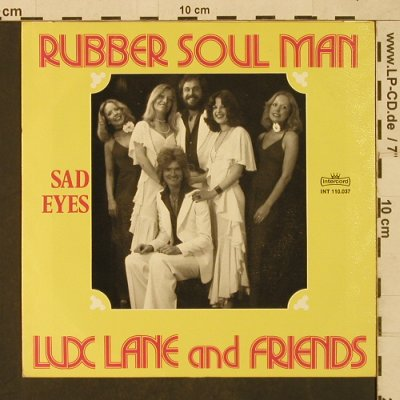 Lux Lane and Friends: Rubber Soul Man, Facts, Intercord(INT 110.037), D, 1977 - 7inch - T1624 - 5,00 Euro