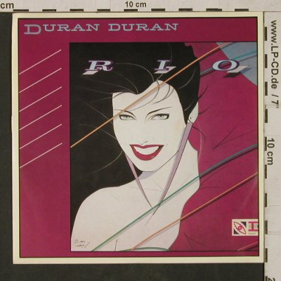 Duran Duran: Rio / Hold back the rain, EMI(006-64 938), EEC, 1982 - 7inch - T1655 - 3,00 Euro