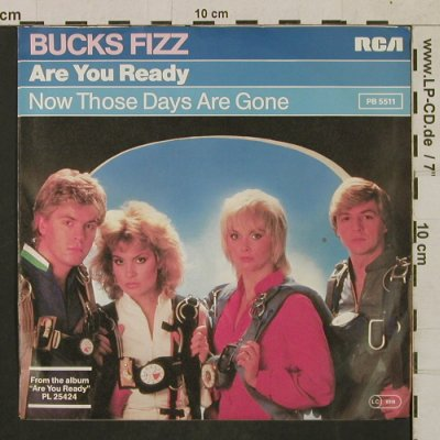 Bucks Fizz: Are You Ready/Now Those days are.., RCA(PB 5511), D, 1982 - 7inch - T1735 - 3,00 Euro