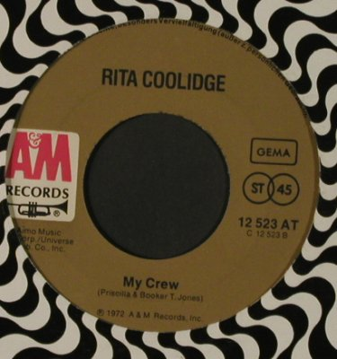 Coolidge,Rita: Fever / My Crew, LC, AM(12 523 AT), D, 1972 - 7inch - T1746 - 5,00 Euro