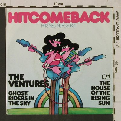 Ventures: (Ghost)Riders in the Sky/TheHouseOf, Liberty(UA 35 977), D, m-/vg+, 1973 - 7inch - T1747 - 5,00 Euro