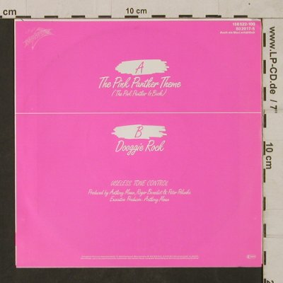 Useless Tone Control: The Pink Panther Theme, Transparent(80 2017-5), D,  - 7inch - T1797 - 7,50 Euro