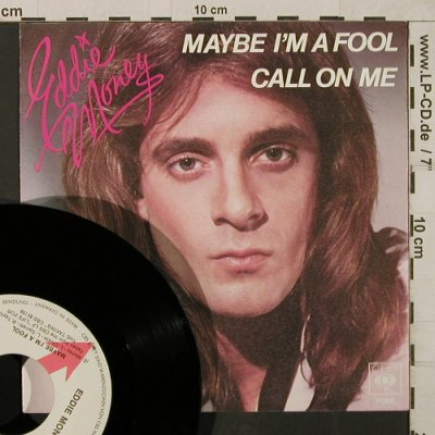 Money,Eddie: Maybe I'm a Fool / Call on Me, CBS BlitzInfo(CBS S 7088), D, 1979 - 7inch - T1850 - 5,00 Euro
