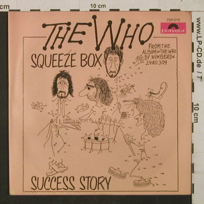Who: Squeeze Box/Success Story,kl.Welle, Polydor(2121 275), D, 1975 - 7inch - T1864 - 5,00 Euro