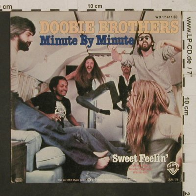 Doobie Brothers: Minute by Minute/Sweet Feelin', WB(WB 17 411), D, 1979 - 7inch - T1871 - 4,00 Euro