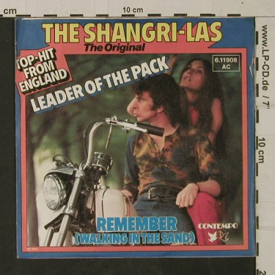 Shangri-Las: Leader Of The Pack, Contempo(6.11908 AC), D, 1976 - 7inch - T1936 - 3,00 Euro