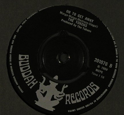 Tokens: She lets her hair down/Oh to get aw, Buddah, FLC(201076), UK, 1969 - 7inch - T1992 - 5,00 Euro