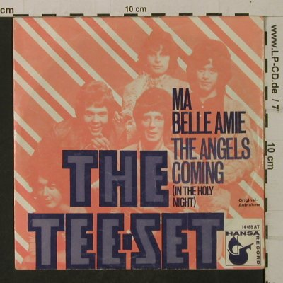 Tee-Set: Ma Belle Amie/The Angels Coming, Hansa(14 455 AT), D,vg+/vg+,  - 7inch - T2024 - 2,50 Euro
