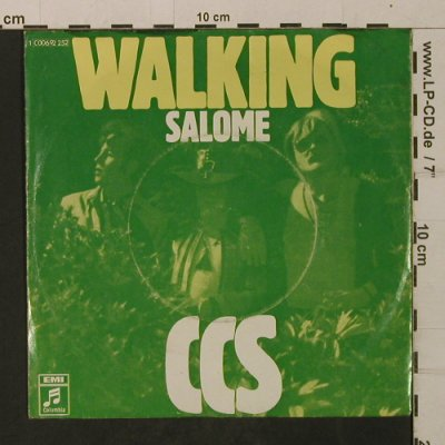C.C.S.: Walking / Salome, vg+/vg+, Columbia(C 006-92 252), D,  - 7inch - T2027 - 3,00 Euro