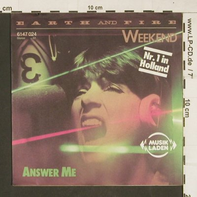 Earth And Fire: Weekend / Answer Me, Vertigo(6147 024), D, 1979 - 7inch - T204 - 2,50 Euro