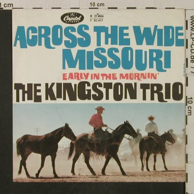 Kingston Trio: Across the Wide Missouri --/m-, Capitol(K 21 936), D,  - Cover - T2075 - 1,00 Euro