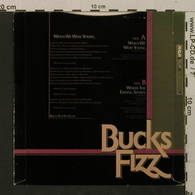 Bucks Fizz: WhenWeWereYoung/WhereTheEndingStart, RCA(RCA 342), UK, 1983 - 7inch - T2092 - 1,50 Euro
