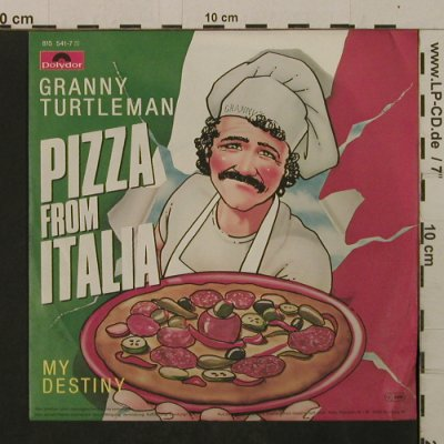 Turtleman,Granny: Pizza From Italia / My Destiny, Polydor(815 541-7), D, 1983 - 7inch - T2102 - 1,50 Euro
