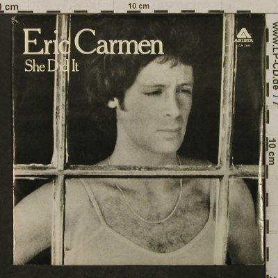 Carmen,Eric: She Did It / Someday, Arista(AS 266), US, 1977 - 7inch - T2115 - 2,00 Euro