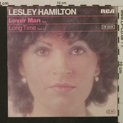 Hamilton,Lesley: Lover Man / Long Time, RCA(PB 5548), D, 1977 - 7inch - T2128 - 1,50 Euro