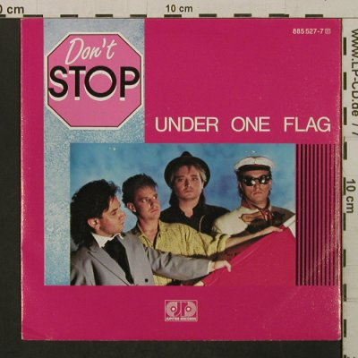 Don't Stop: Under One Flag / Safer Sex, Jupiter(885 527-7), D, 1987 - 7inch - T2136 - 1,50 Euro