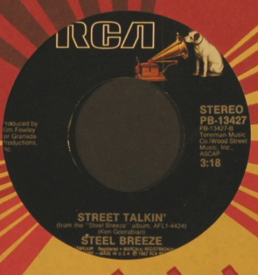 Steel Breeze: Dreamin' Is Easy/Street Talkin',FLC, RCA(PB-13427), US, 1982 - 7inch - T2154 - 2,00 Euro