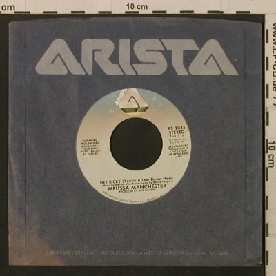 Manchester,Melissa: Nice Girls / Hey Ricky, FLC, Arista(AS 1045), US, 1982 - 7inch - T2174 - 1,50 Euro