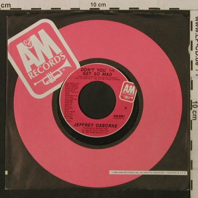 Osborne,Jeffrey: Don'tYouGet So Mad/So Much Love,FLC, AM(AM-2561), US, 1983 - 7inch - T2176 - 1,50 Euro