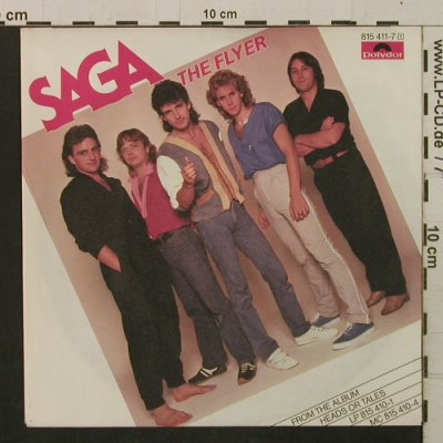 Saga: The Flyer / The Writing, Polydor(815 411-7), D, 1983 - 7inch - T2187 - 3,00 Euro