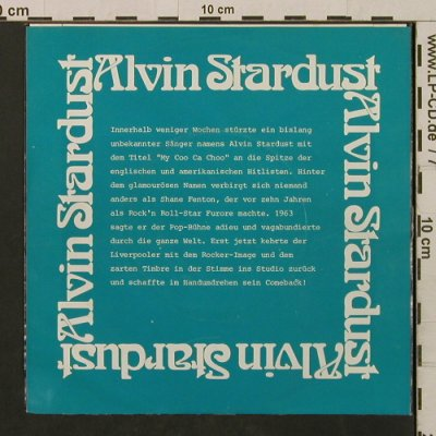 Stardust,Alvin: Jealous Mind / Guitar Star, Ariola(13 176 AT), D, 1974 - 7inch - T2202 - 2,50 Euro