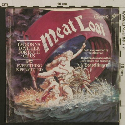 Meat Loaf: I'm Gonna Love Her For Both Of Us, Epic(EPC A1580), UK, 1981 - 7inch - T2214 - 3,00 Euro
