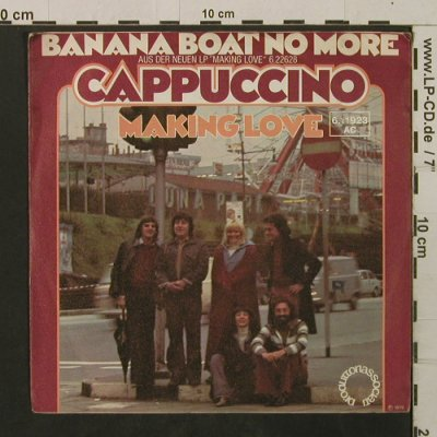 Cappuccino: Banana Boat and More / Making Love, Produttori Associati(6.11923 AC), D, 1976 - 7inch - T2230 - 2,00 Euro