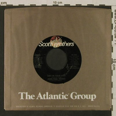 Young,John Paul: Lost In Your Love, FLC, ScottiBros(SB 405), US, 1978 - 7inch - T2249 - 2,00 Euro