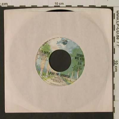 Sayer,Leo: How Much Love/I Hear The Laughter, WB(WBS 8319), US, FLC, 1976 - 7inch - T2250 - 2,00 Euro