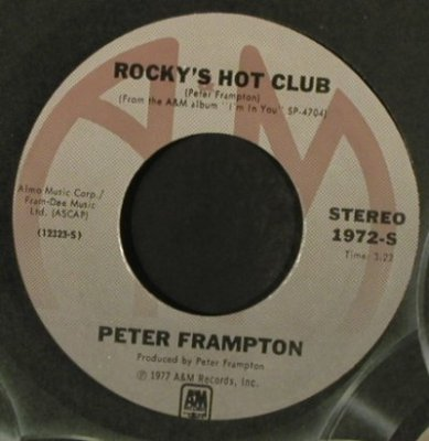 Frampton,Peter: SignedSealedDelivered/RockysHotClub, AM(1972-S), US, FLC, 1977 - 7inch - T2257 - 3,00 Euro