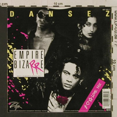 Empire Bizarre: Dansez / A Night In The Sahara, Zip(887 422-7), D, 1988 - 7inch - T2273 - 1,50 Euro