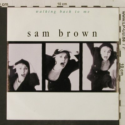 Brown,Sam: Walking back To Me / Tender Hearts, AM(390290-7), D, 1988 - 7inch - T2276 - 1,50 Euro